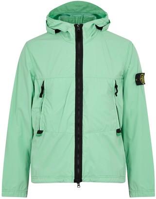 Stone Island Skin Touch mint stretch-shell jacket