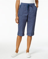 Style&Co. Style & Co Drawstring-Waist Skimmer Shorts, Only at Macy's