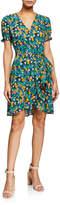 Diane von Furstenberg Emilia Floral-Print Wrap Dress