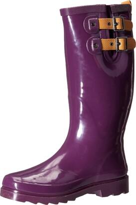Chooka Women's Top Solid Rain Boot