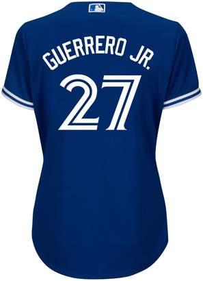 Majestic Vladimir Guerrero Jr. Toronto Blue Jays MLB Cool Base Replica Away Jersey Top