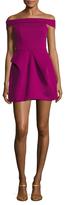 Aq/Aq Magnate Off The Shoulder Mini Dress