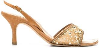 A.N.G.E.L.O. Vintage Cult Embellished Slingback Sandals