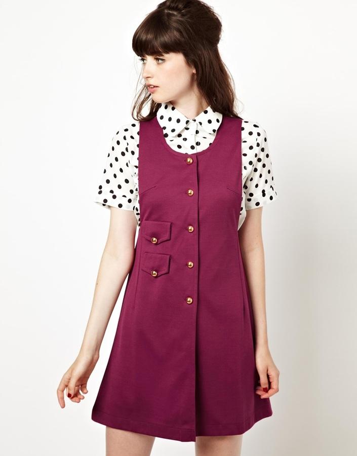 Pop Boutique Pinafore Dress