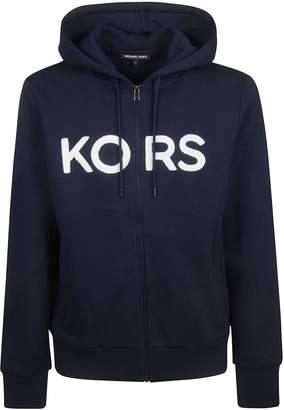 Michael Kors Kors Print Zipped Hoodie