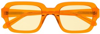 Han Kjobenhavn transparent frame glasses