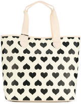 Twin-Set printed hearts tote bag