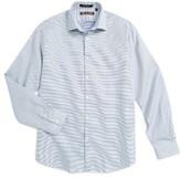 Michael Kors Boy's Neat Check Dress Shirt