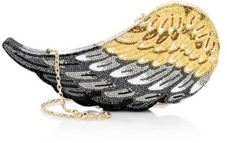 Judith Leiber Couture Aloft Wing Crystal Clutch