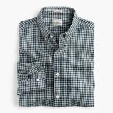 J.Crew Slim Secret Wash shirt in gingham