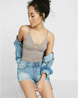 Express eco-friendly low-rise relaxed cutoff shorts