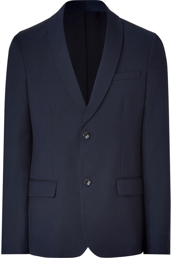 Marc by Marc Jacobs Navy Andrey Suiting Blazar