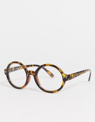 A. J. Morgan AJ Morgan carter clear lens glasses