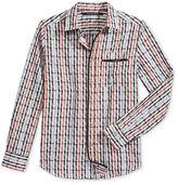 Sean John Men's Dobby Check Shirt