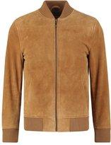 Esprit Collection Leather Jacket Camel