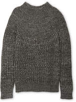 Whistles Funnel Neck Melange Sweater