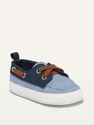 Old Navy Color-Blocked Canvas Boat Shoes for Baby