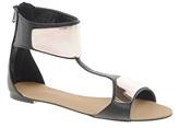 Sadie Flat Sandal - Black