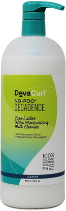 DevaCurl Decadence No-Poo Zero Lather Ultra Moistuizing Milk Cleanser - 32 Oz