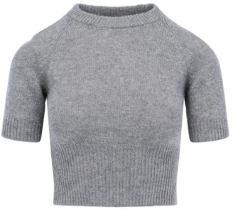 Prada Cropped Knitted Top