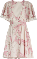 Giambattista Valli Floral-print silk-georgette dress