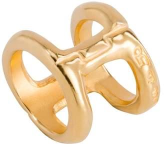 Uno de 50 Bis-A-Dos Double Band Ring