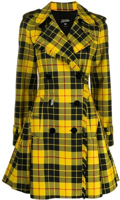 Jean Paul Gaultier Pre-Owned 2004 check trench coat