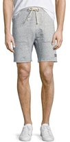 Sol Angeles Neppy Cutoff Sweat Shorts, Blue