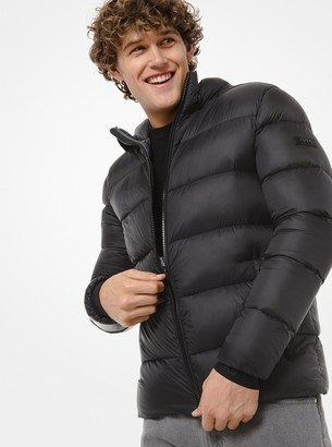 Michael Kors Quilted Nylon Hooded Puffer Jacket