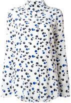 Equipment cherry print shirt - women - Silk - XS