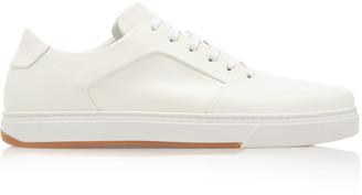 Bottega Veneta Low-Top Lace-Up Leather Sneakers