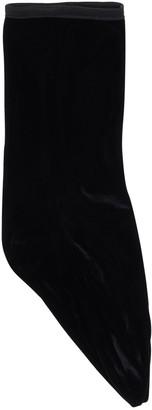 Techno Velvet Ankle Socks