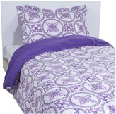 Pem America Baroque Circles Twin Comforter with Sham