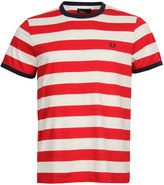 Fred Perry T-Shirt Ringer M1534 Red