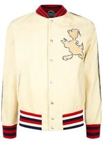 Gucci Donald Duck Embroidered Bomber Jacket