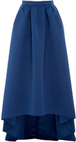 Paule Ka Ottoman High Low Skirt with Pockets