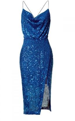 Aggi Dress Kim Brilliant Blue