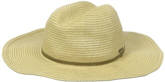 Seafolly womensS70330Coyote Straw Hat Hat - Beige - One Size