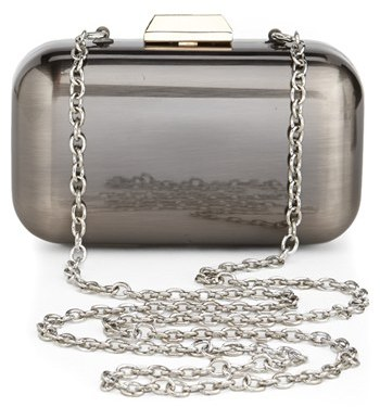 Sondra Roberts 'Two Tone' Box Clutch