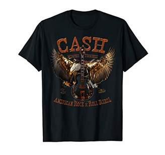 N. Cash Eagle Johnny American Rock Roll Rebel T-Shirt
