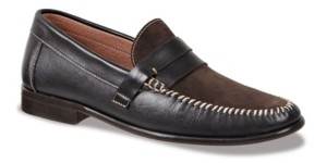 Sandro Moscoloni Men's Whip Stitch Moc with Strap Men's Shoes