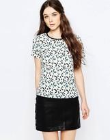 Sugarhill Boutique Evie Leopard Spot Tee