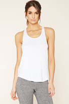 Forever 21 FOREVER 21+ Active Braided-Back Tank