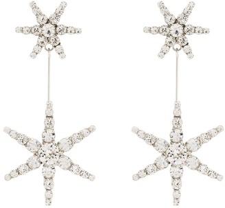 Jennifer Behr Estee crystal star drop earrings