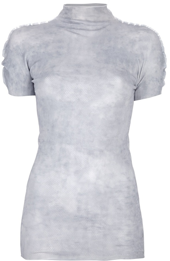 Acne 'Papel' print top