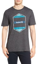 Hurley Men's Maker Logo Graphic T-Shirt