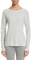 St. John Women's Micro Sequin Stripe Reverse Jersey Cashmere Blend Sweater