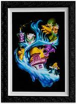 Disney Alice in Wonderland ''Madness Into Wonder'' Giclée by Noah