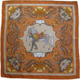 One Kings Lane Vintage Hermès Cheval Turc Pochette Scarf
