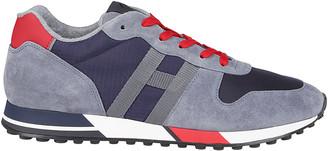 Hogan Hybrid Suede Sneakers